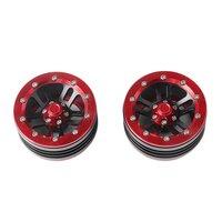 CJG226 1:10 RC Crawler Metall Legierung 1 9 Zoll Beadlock Felge für Axial SCX10 RC Auto Rad Hub Dauerhaften Einsatz auf