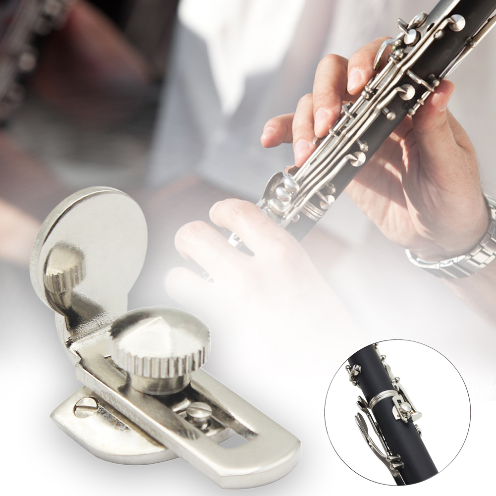 With Screws Adjustable Brass Cushion Woodwind Instrument Guard Comfortable Finger Protector Musical Durable Clarinet Thumb Rest