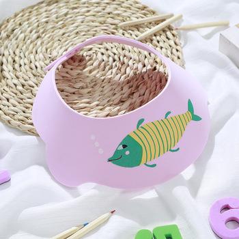 Szampon dla dzieci czapka wodoodporny kapelusz w rybki materiał EVA umyć włosy Hatband nauszniki dzieci prysznic Cape Resizable dla 0-3 lat tanie i dobre opinie FGHGF CN (pochodzenie) 3 lat z możliwością zmiany rozmiaru S486 Zwierząt 1-3 day