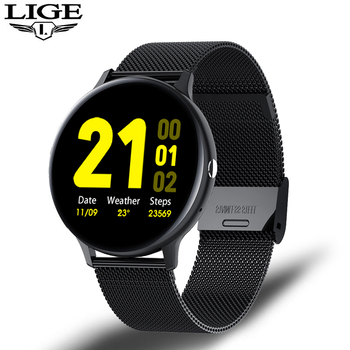 LIGE Smart Watch Men Women IP68 Waterproof Multiple Sports Mode Heart Rate Bluetooth Call Men Smartwatch For Huawei Xiaomi IOS 9