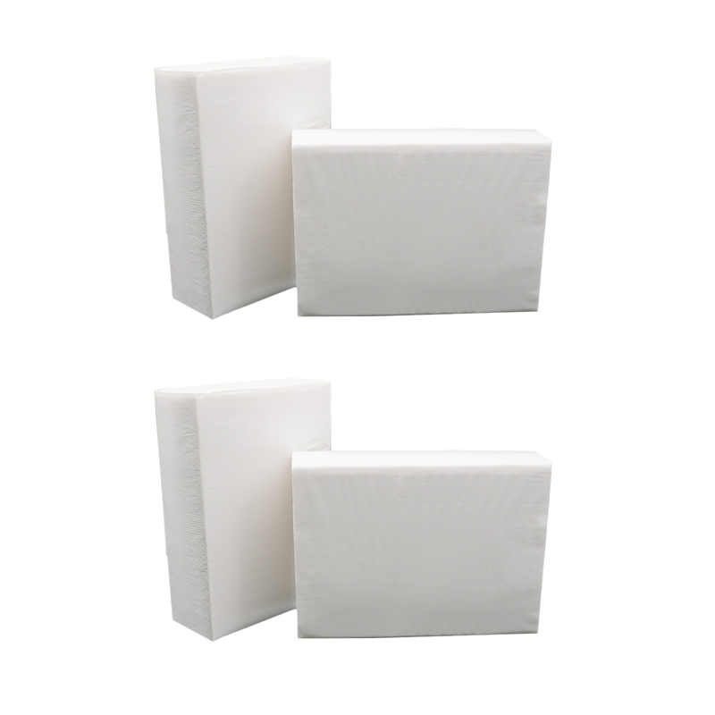 4 Pack 180 Pcs Soft and Absorbent Hand Towels Durable Decorative Bathroom Toilet Paper
