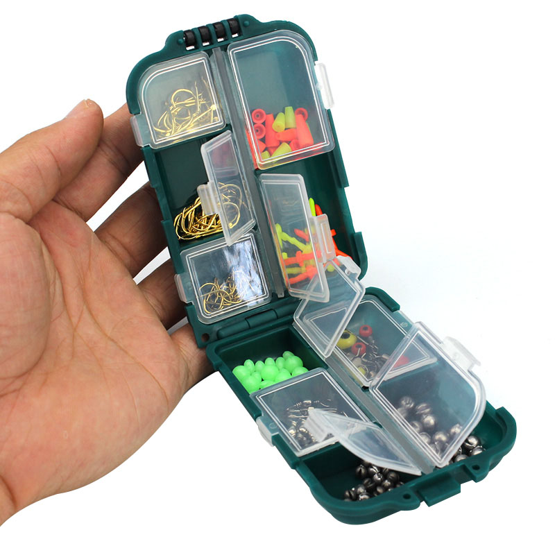 1 Set Multifunctional Bait Tools Kit 157pcs Fishing Accessories Box Tool YS-BUY