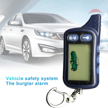 TZ9010 Car 2 Way Engine Start Remote Control Anti-theft Security Alarm System Burglar Alarm
