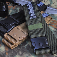 Cinto-Accessories Airsoft Nylon-Belt Training Army Adjustable Heavy-Duty Military Outdoor