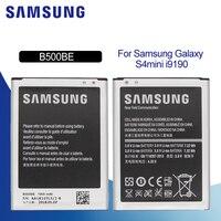 SAMSUNG orijinal yedek telefon pil 1900mAh B500BE 4 pins NFC GALAXY S4 Mini I9190 I9192 I9195 I9198 S4Mini piller