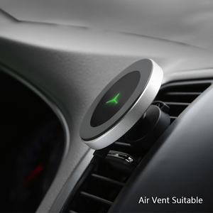 Image 3 - צ י אלחוטי מטען לרכב עבור סמסונג S9 S8 Note9 מגנטי טלפון מחזיק 10W מהיר רכב אלחוטי מטען עבור iPhone xs XsMax Xr 8 בתוספת