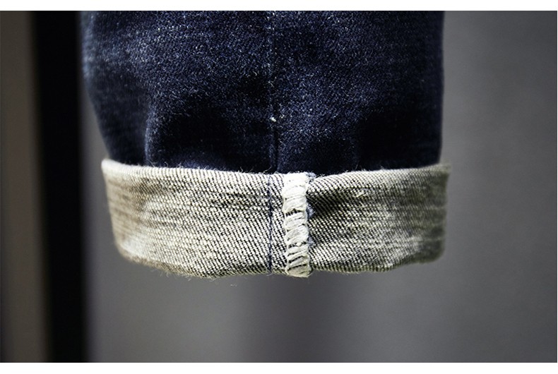 KSTUN Ripped Men Jeans Dark Blue Stretch Slim Fit  Destroyed Broken Holes Denim Pants Casual Biker Jeans Male Hip hop Mens Punk Jeans 17