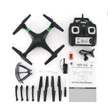 X53 FPV Drone with 480P/720P/1080P WiFi HD Camera Altitude Hold Headless Mode 3D Flip RC Helicopter Real-time Transmission