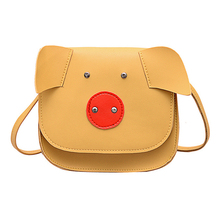 Creative Crossbody Bag Designer Cute Pig Pu Leather Tote for Women Chain Shoulder Mini Purse Ladies Casual Handbag