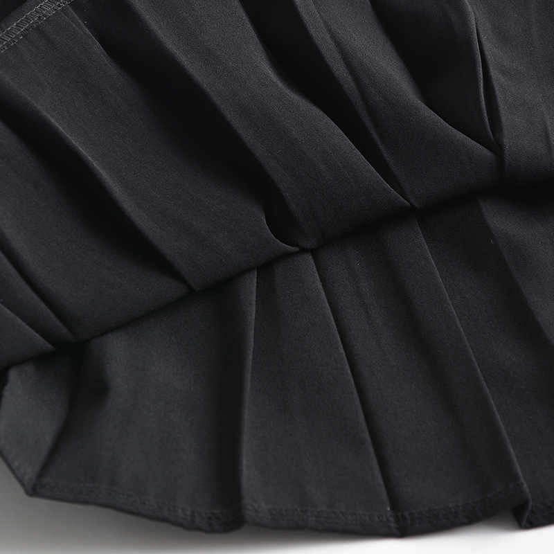School Jurken Sailor Plooirok Jk Uniformen Cosplay College Middelbare School Kostuum Zwart Navy Blauw Korte Midden Lange Rok