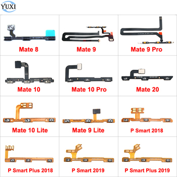 YuXi Switch Power ON OFF Button Mute Silence Volume Key Flex Cable Ribbon for Huawei Mate 20 10 9 Pro Lite 8 P Smart Plus 2019 image