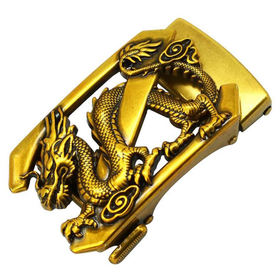 Men's Belt Buckle, Trousers Buckle, Leisure Belt Buckle, Business Accessories Automatic Buckle Width 3.3-3.6cm Belt