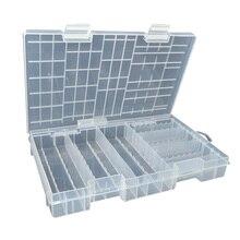 Waterdichte Draagbare Transparante Gereedschap Batterij Houder Grote Capaciteit Plastic Case Opbergdoos Sterke Stofdicht Container Grote