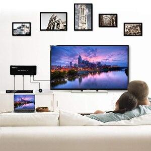 Image 4 - 4K 60HZ HDMI 스위치 7x1 4x1 3x1 HDMI 2.0 스위처 오디오 비디오 컨버터 PS3 PS4 XBOX DVD PC TV HDTV 모니터 또는 프로젝터