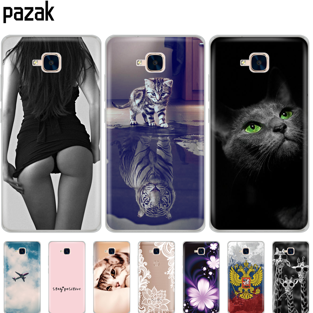 """For Huawei Honor 5C Case Cover NO Fingerprint Soft Silicone TPU Back Phone Cases Cover for Huawei Honor 5 C 5C Euro Version 5.2"""""""