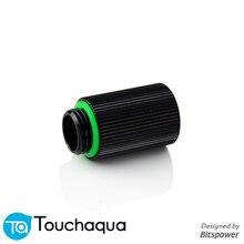 """Bitspower Touchaqua G1/"""" 25 мм штекер-f-удлинитель фитинги, комплект для охлаждения сборки фитинги черный, серебристый"""