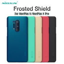 Bao Da Cho Oneplus 8 One Plus 8 Pro Hiệu Nillkin Super Frosted Shield Cứng Lưng PC 1 + 8 pro Bảo Vệ Ốp Lưng Cho OnePlus 8 Pro