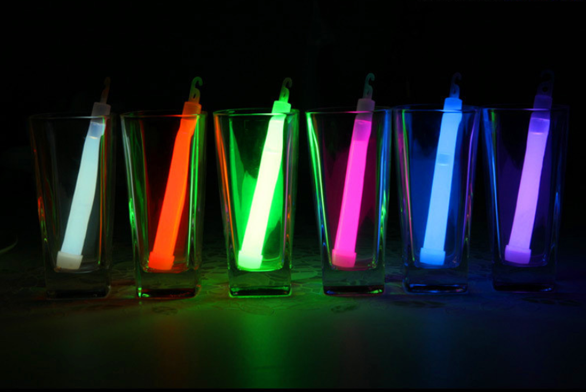 15 CM Industrial Grade Glow Sticks Party Glowstick Chemical Fluorescent Halloween Hanging Decoraction Camping Emergency Lights
