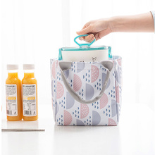 Bag Lunch-Bag Drawstring Insulated Women Pouch Thermal-Food-Storage-Bag Portable Hot