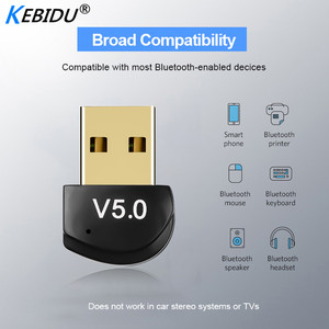 Image 2 - Kebidu Mini BT 5.0 Adapter USB Dongle Wireless USB Bluetooth Transmitter 5.0 Music Receiver Bluetooth Adapter For Computer PC