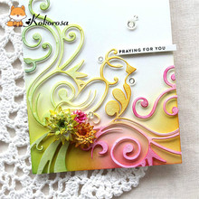 Kokorosa Cutting Dies Metal Special Flower Die Scrapbooking Album Card Making Embossing Stencil Diecuts Decoration