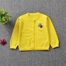 Enfants vêtements manteaux enfant en bas âge garçons filles vêtements tricoté coloré abeilles chandail Cardigan manteau hauts 2020 printemps Casaco Infantil(China)