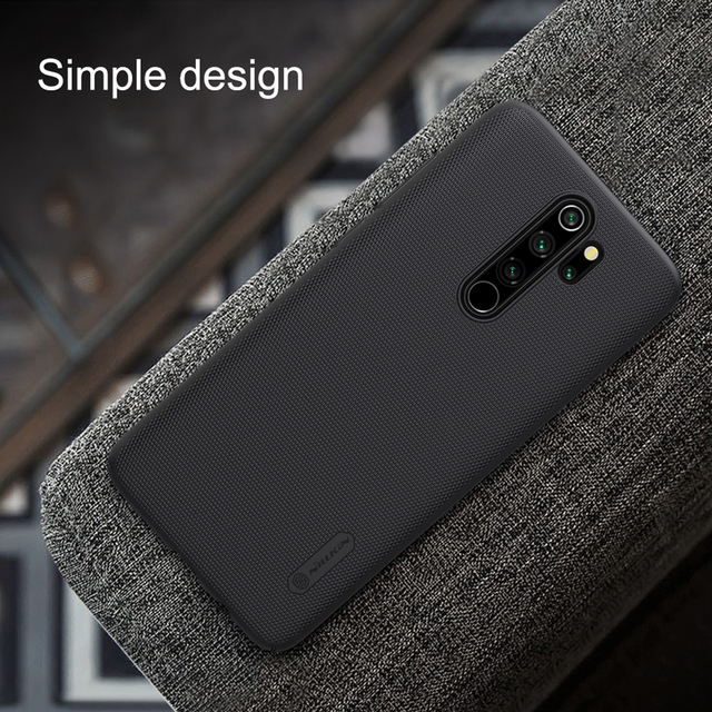 Nillkin Redmi Note 8 Pro Super Frosted Shield Hard PC Back Case Cover