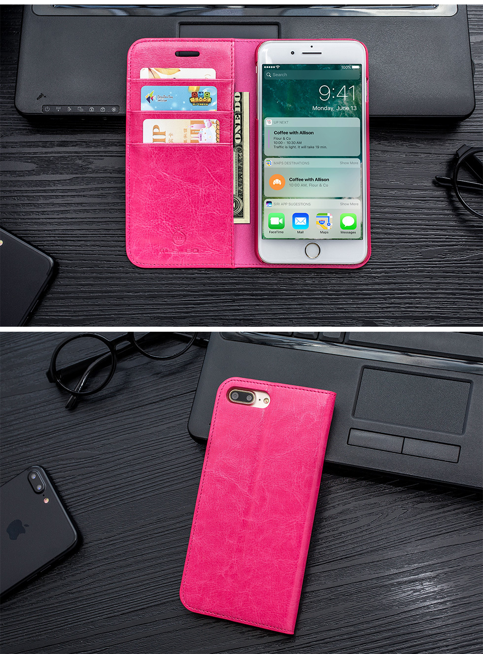 H27cfba49a7024f70872567238fad0d25B Musubo Genuine Leather Flip Case For iPhone 8 Plus 7 Plus Luxury Wallet Fitted Cover For iPhone X 6 6s 5 5s SE Cases Coque capa
