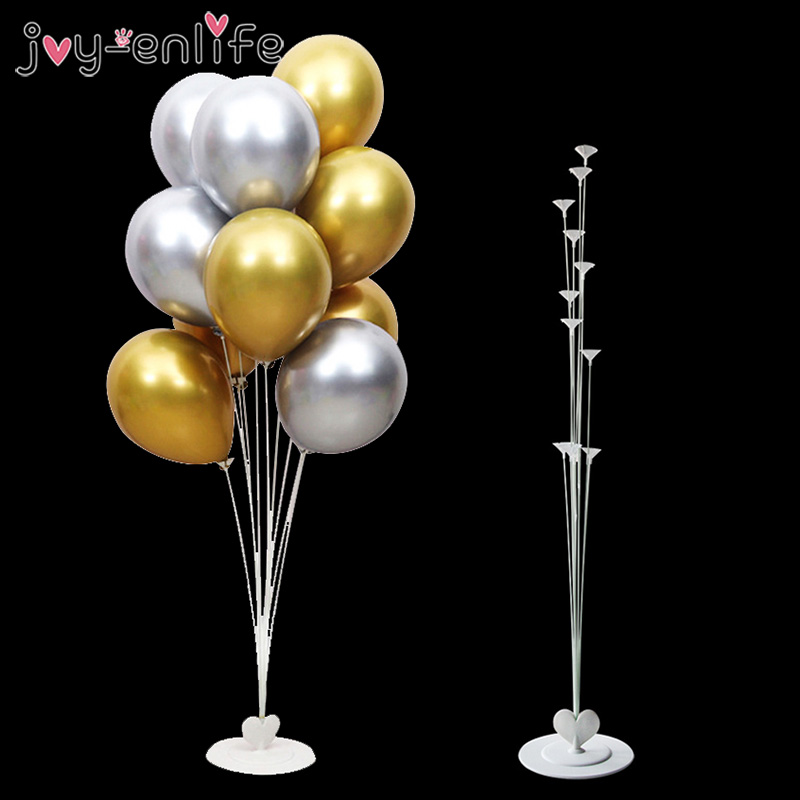 1set Balloons Holder Column Stand Holder Stickers For Wedding Kids Birthday Party Baby Shower Decoration Balloon Accessories