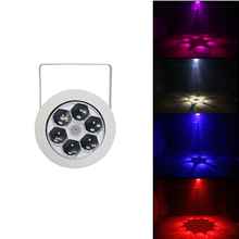 6 Bee Eye Laser Light Moving Head Beam Scans DMX DJ Dance Bar Coffee Xmas Home Decor for Family Party Disco Music Show