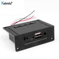 Dc5v bluetooth receptor carro kit mp3 player decodificador placa 2*5w amplificador para alto-falante suporte mp3/usb/tf/linha in/fm módulo