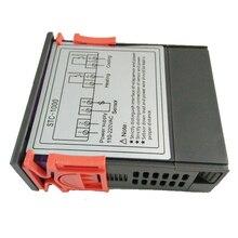 Двухступенчатый цифровой терморегулятор по Фаренгейту термостат с датчиком для 3D-принтера, морозильной камеры, холодильника, штриховки