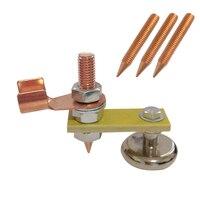 65x10mm Schweißen Magnetische Kopf Boden Draht Tool Starke Magnetismus Große Saug Erdung Zubehör WWO66-in Schweißdrähte aus Werkzeug bei