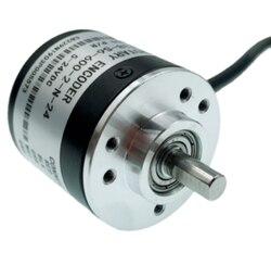 Encoder AB 2-Phasen-Inkremental-Drehgeber DC 5-24 V 3000-6000 U//min Vollwellen-Encoder f/ür die Autotechnik 100B