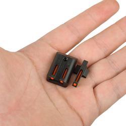Mira Trasera delantera de fibra óptica Colt 1911 mira verde roja para pistola CUT. 270. 450 M1911