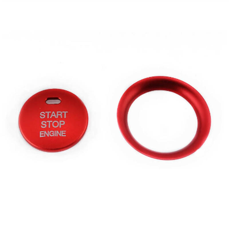 Red <font><b>Engine</b></font> Stop Push Button Switch <font><b>Cover</b></font> Trim For <font><b>Mazda</b></font> <font><b>3</b></font> Axela CX-<font><b>3</b></font> CX-4 CX-5 image