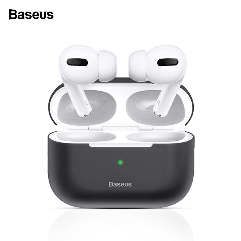 Baseus Luxury Case For Airpods Airpod Pro 3 2 1 Silicone Wireless Protective Cover For Apple Air Pods Pod 2 1 Pro Coque Fundas