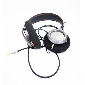 Image 5 - 40MM כבד בס פתוח חזרה אוזניות 32 אוהם HiFi מעל אוזן אוזניות מלא טווח מתכת דיור אוזניות