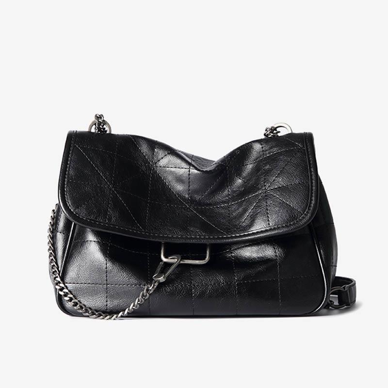 Crossbody Bags For Women Large Capacity High-end Foreign Shoulder Bag Korean Version Of The Messenger Bag Retro Messenger Bag