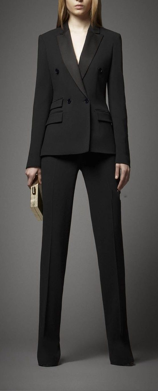 Women Pant Suits New Bespoke Womens Business Suit Office Jacket And Pants Suit Work Wear Set