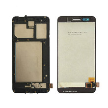 цена на 1Pcs Top quality new For LG X230 X230I X230K K7 2017 LCD Display Touch Screen Digitizer  Black,No/with Frame