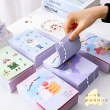 375pcs/lot Memo Pads Sticky Notes Vintage animals rabbit paper Journal Scrapbooking Stickers Office School stationery