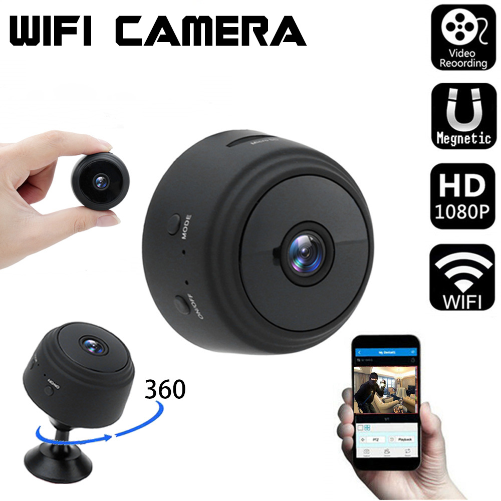 Mini IP Camera 1080P Sensor Night Vision Camcorder Motion DVR Micro Sport Video Small Camera Remote Monitor Phone App