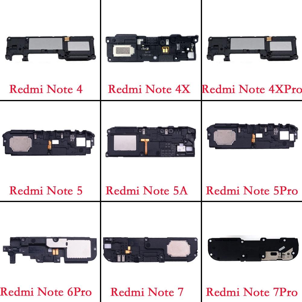 1pcs Loud Speaker For Xiaomi Redmi Note 4 4x 5 5A 6 7 Pro Ringer Ringtone Loud Speaker Buzzer Sound Replacement Flex
