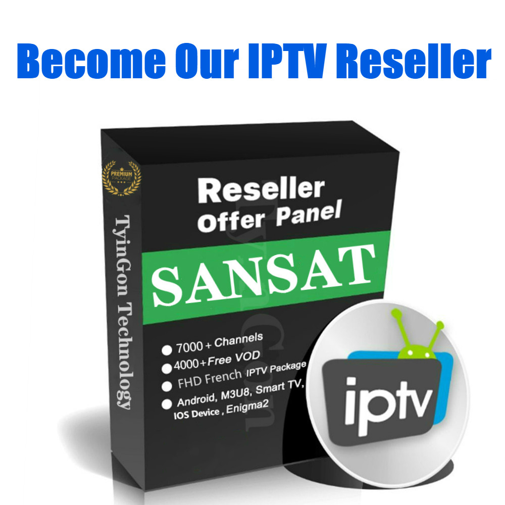 4K IPTV Panel For Reseller Management 7500+live VOD Series Have Bein Sport/Adult Channels English Spanish Arabic French IPTV