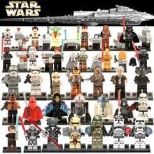 Legoes Star wars Building Block Rey Kylo Ren Chewbbacca C3PO R2D2 Darth Vader Yoda Skywalker Starwars Model Figure Toys For Kids darth sidious with lightsaber xinh 205 starwars darth vader star wars minifigures building block toys for children lepin