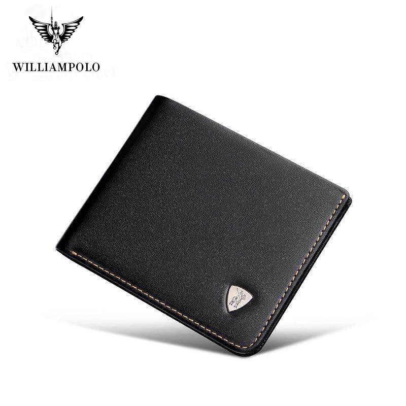 2019 Minimalist Slim Genuine Leather for Men  Slimline Wallets Ultra Thin Mini Small Male  Coin Purse Compact cow  Leather Short