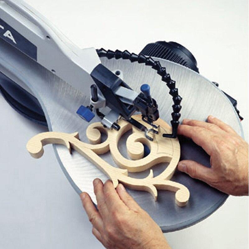 12 Pcs Scroll Saw Blade 125mm 10 TPI Cutting Wood Non-Ferrous Metals Pin End-Set
