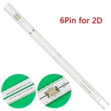 Neue kit 2 PCS 56LED 500mm Led hintergrundbeleuchtung streifen Für Samsung UA40ES6100J UE40ES5500 2012SVS40 7032NNB RIGHT56 LEFT56 2D panel