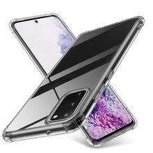 Clair Ultra mince Pour Samsung Galaxy s20 ultra s 20 plus 20 ultra s20plus note 10plus not10plus s20ultra Housse de PROTECTION Arrière en TPU